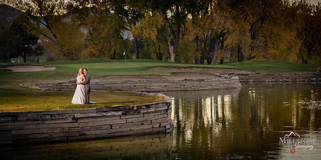 Fall wedding photographed by Denver Wedding Photographer, Milestone Imaging
