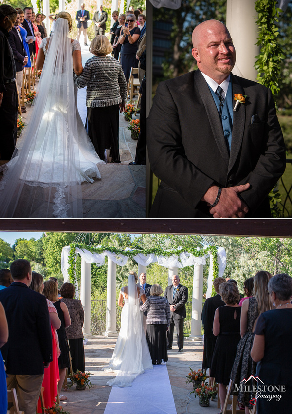 Wedding photography by Denver wedding photographer Milestone Imaging