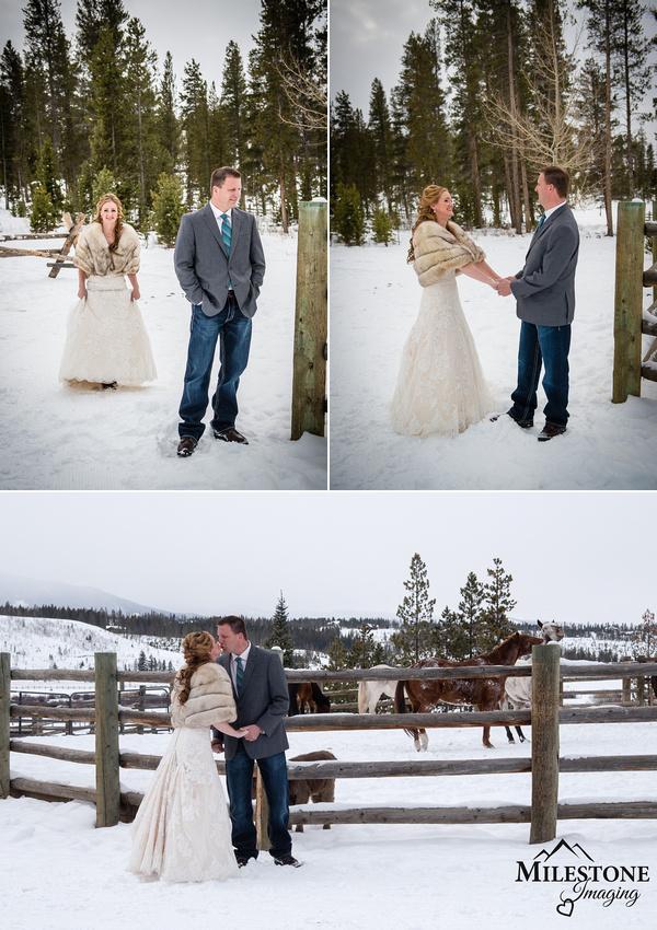 Devil's Thumb Ranch wedding photographer Milestone Imaging, Tabernash, Colorado
