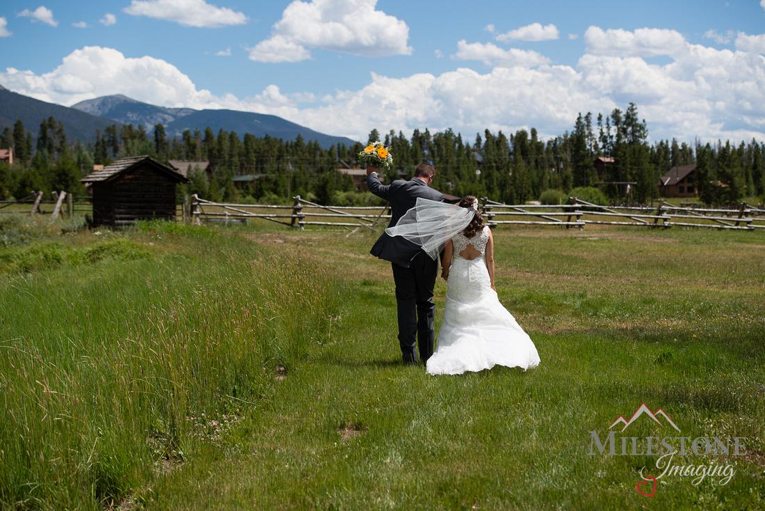 Photographed by professional Denver Colorado wedding photographer, Tom Miles, Milestone Imaging