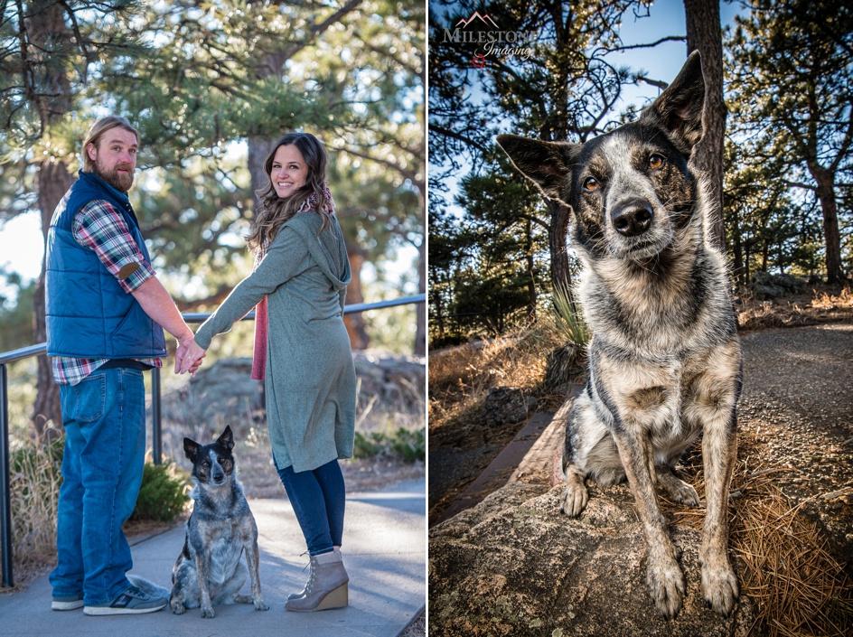 Engagement photography by Denver Colorado wedding photographer Milestone Imaging