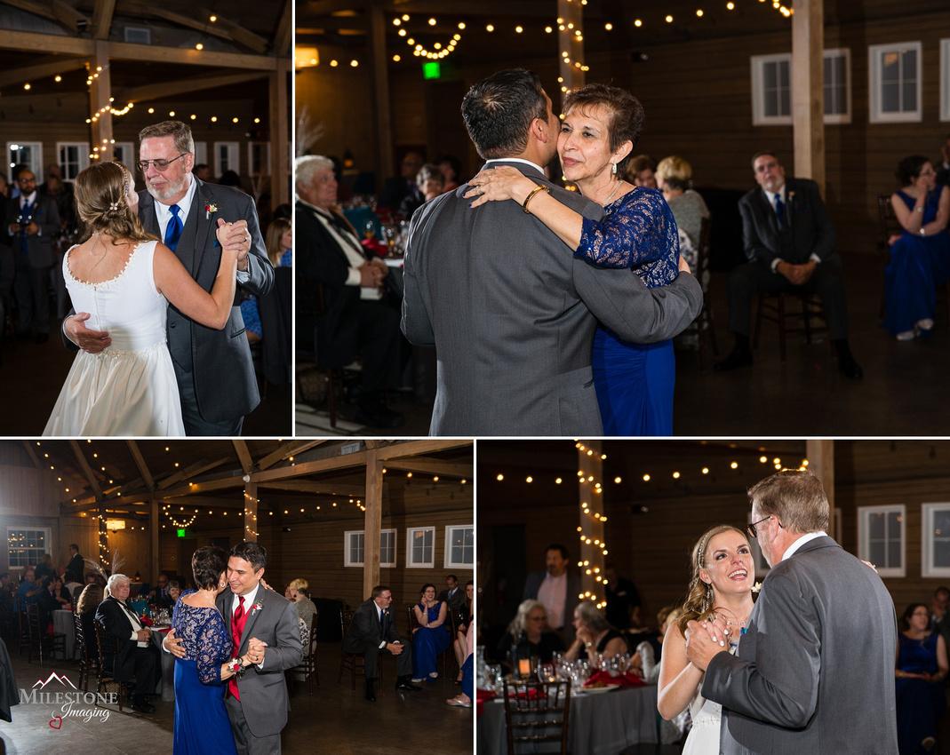 Wedding reception photographed by Denver Wedding Photographers, Milestone Imaging