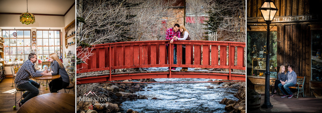 Georgetown, Colorado engagement photos by Denver Wedding Photographer Tom Miles of Milestone Imaging