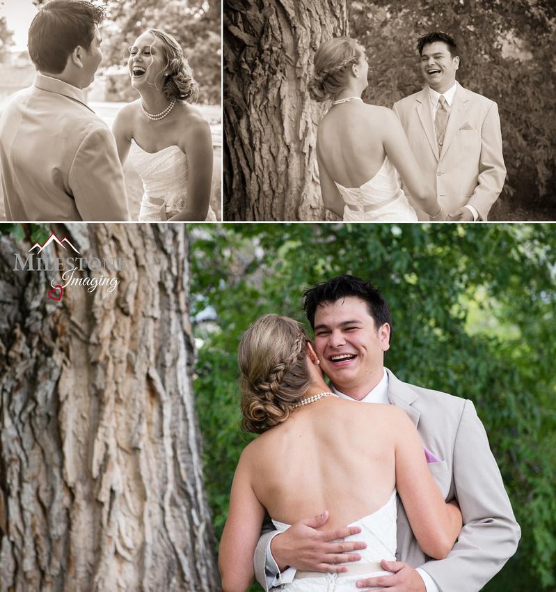 Photographed by Loveland and Front Range wedding photographers, Milestone Imaging