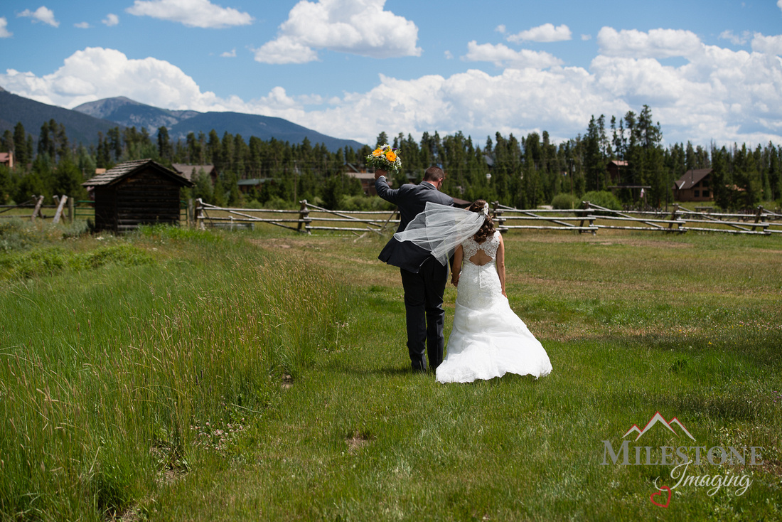 Photographed by professional Denver Colorado wedding photographer, Tom Miles, Milestone Imaging