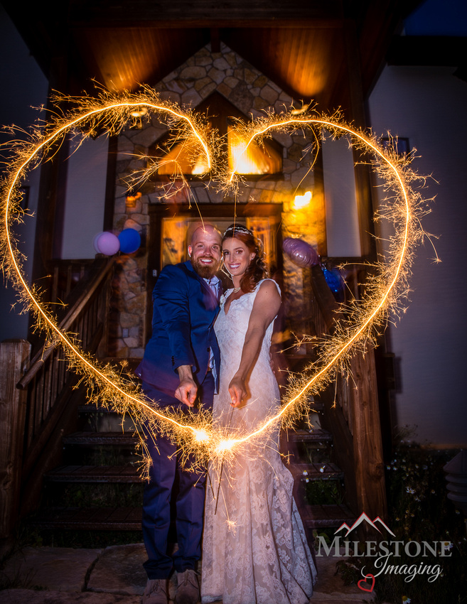 Wedding day captured by Colorado Wedding Photographers, Milestone Imaging