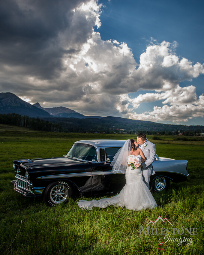 Mountain wedding photography by Colorado Wedding Photographers, Milestone Imaging