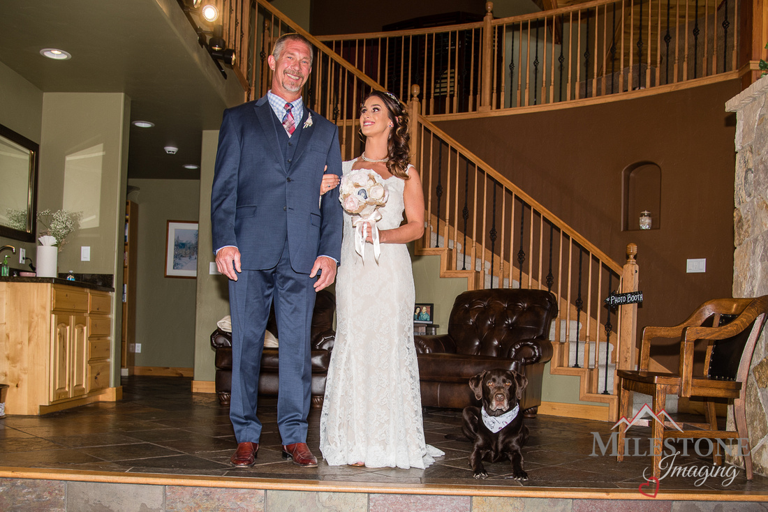 A wedding day captured by Colorado Wedding Photographers, Milestone Imaging