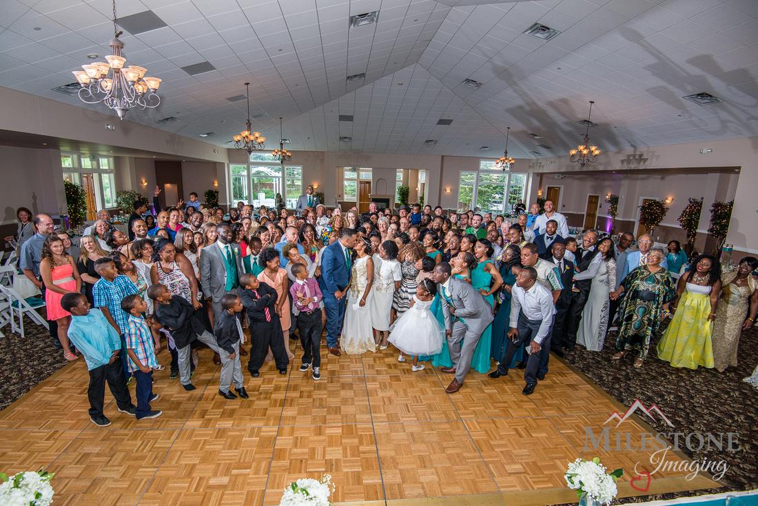 Wedding reception photos by Denver Wedding Photographers, Milestone Imaging