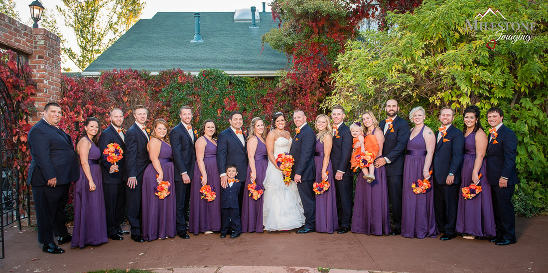 Photographed by Denver Colorado wedding photographers Milestone Imaging.