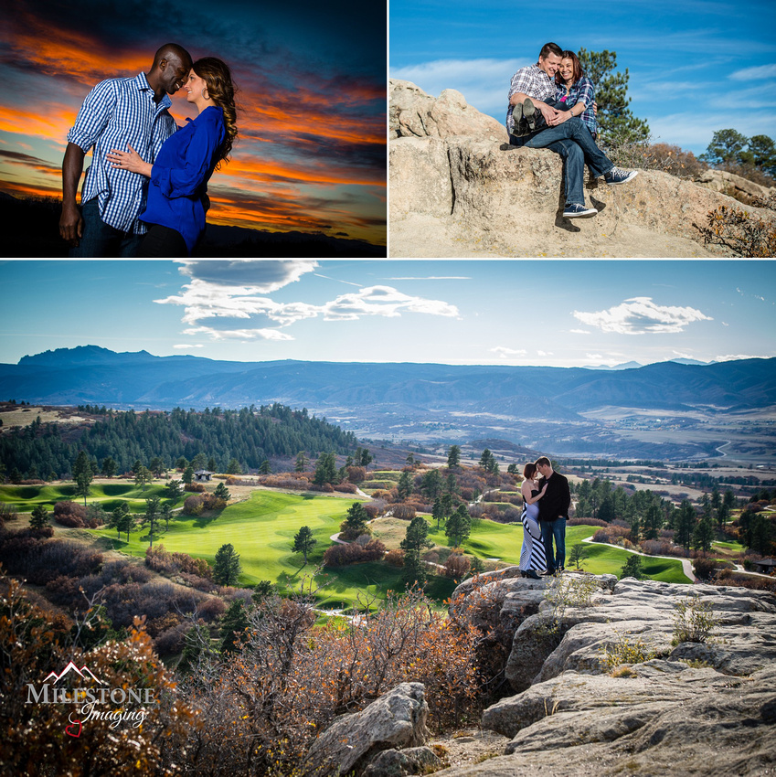 Daniels Park engagement photos by Denver Wedding Photographer Tom Miles of Milestone Imaging