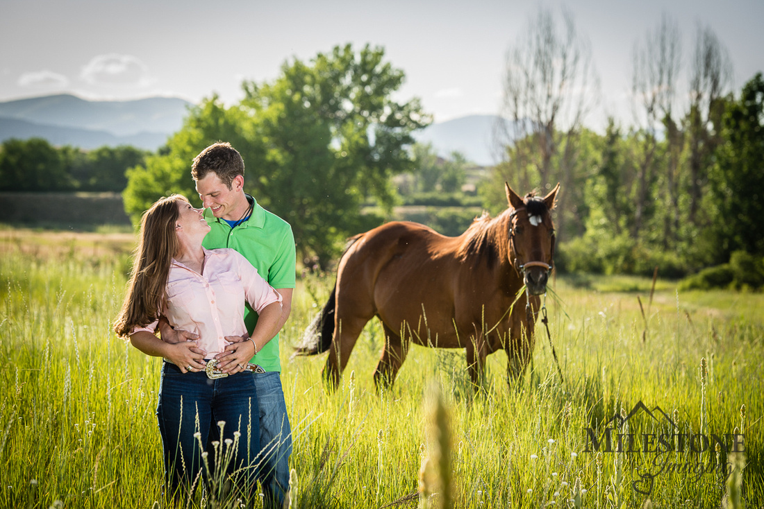 Colorado Engagement Photography by Milestone Imaging