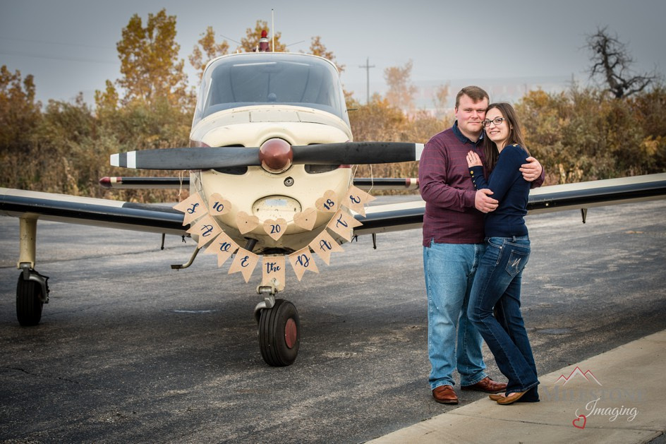 Colorado engagement photos by Denver Wedding Photographer, Tom Miles of Milestone Imaging