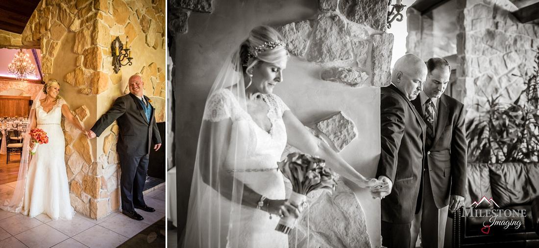 Wedding photography by Denver wedding photographers Milestone Imaging
