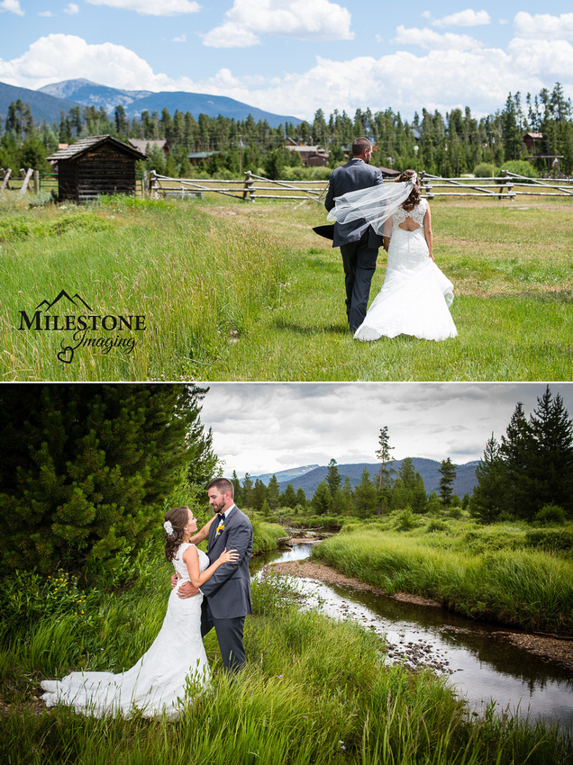Photographed by Colorado Mountain Wedding Photographers Milestone Imaging