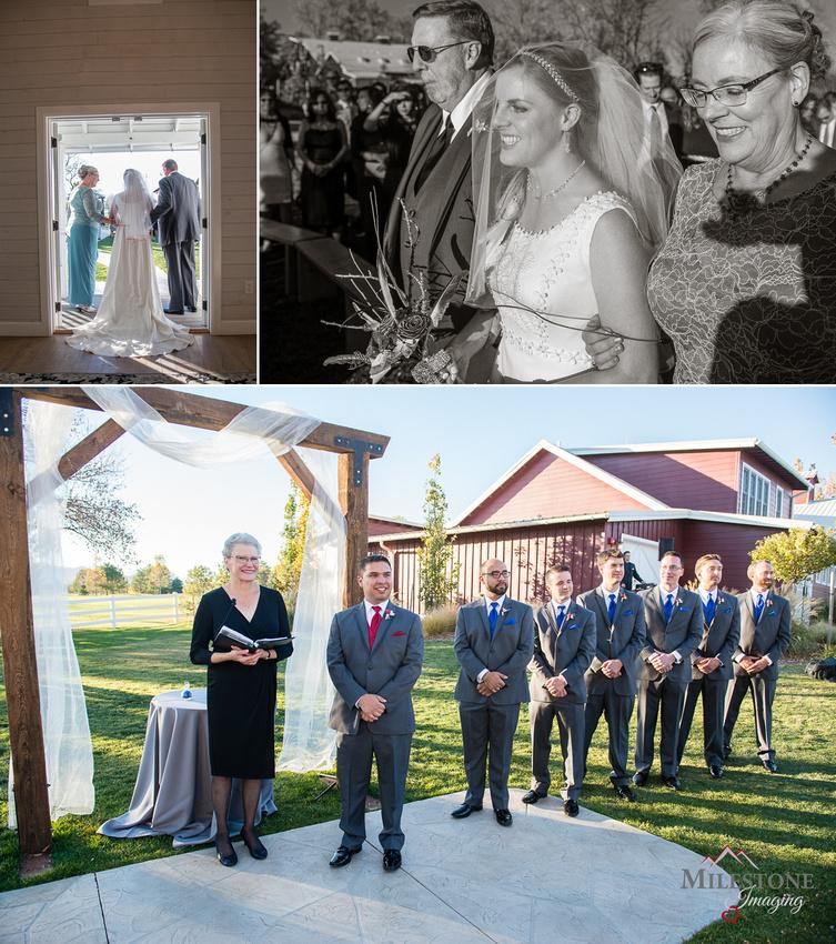 Littleton Wedding photographed by Denver Wedding Photographers, Milestone Imaging