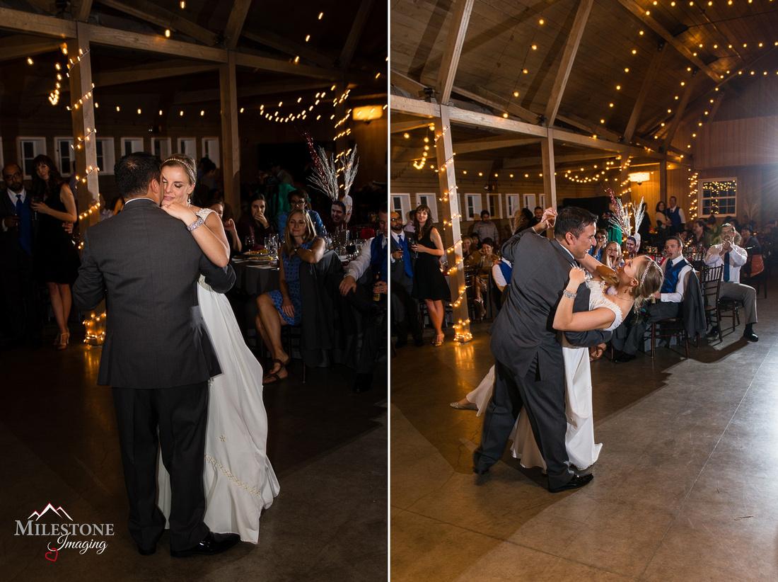 Wedding reception photographed by Denver Wedding Photographer, Milestone Imaging